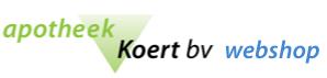 Apotheek Koert Webshop
