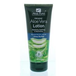 Aloe vera lotion
