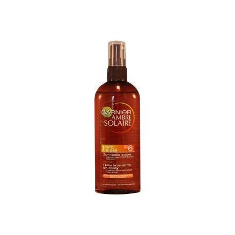 Ambre solaire spray oil SPF6