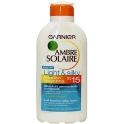 Ambre solaire milk light & silk SPF15