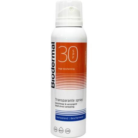 Zonnespray SPF30 vernevelende spray