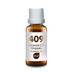 409 Vitamine D3 druppels 25mcg