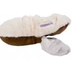 Slippies maat 4-7(36-41) uitneembare vulling creme