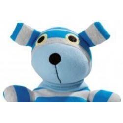Pop hond blauw grijs