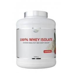 100% Whey isolate stevia aardbei