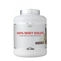 100% Whey isolate stevia chocolade