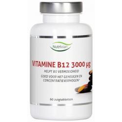Vitamine B12 methylcobalamine 3000mcg