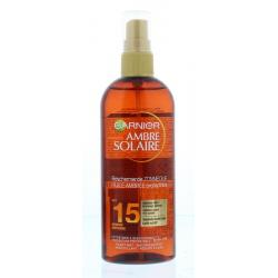 Ambre solaire gold touch oil SPF15