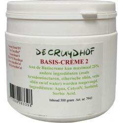Basis creme 2 zonder paraffine