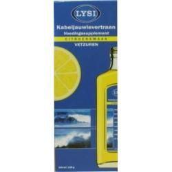 Levertraan citroensmaak