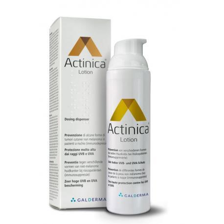 Actinica lotion dispenser