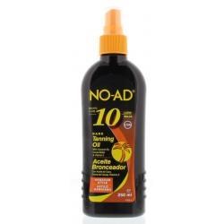 Sun tan oil spray hawaiian dark SPF10