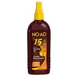 Sun tan oil spray hawaiian dark SPF15