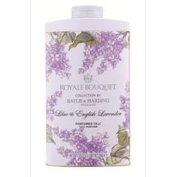 Royale bouquet lilac english lavender talc parfum
