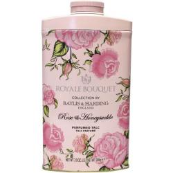 Royale bouquet rose & honeysuckle talc met parfum