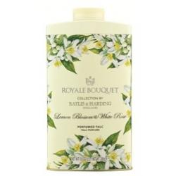 Royale bouquet lemonblossom with rose talc parfum