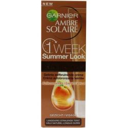 Ambre solaire one week summer look