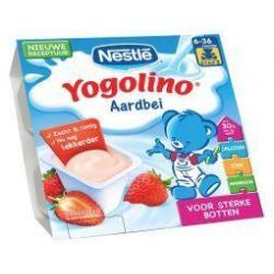 Yogolino aardbei 6 mnd