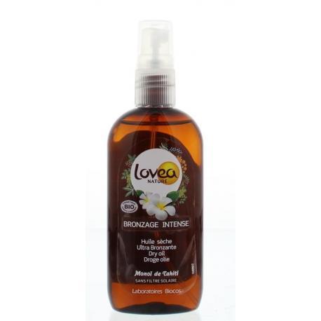 Dry oil spray