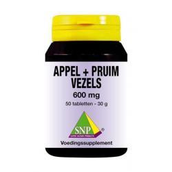 Appel pruim vezels 600 mg