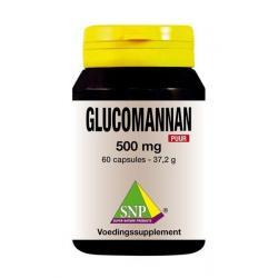 Glucomannan 500 mg puur