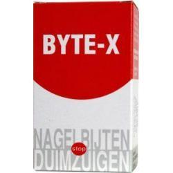 Byte X tegen nagelbijten/duimzuigen