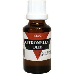 Citronella olie