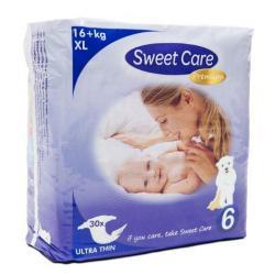Sweetcare premium XL maat 6 16+ kg