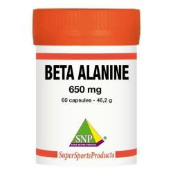 Beta alanine 650 mg puur