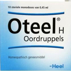 Oteel H oordruppels