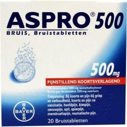 Aspro bruis 500mg