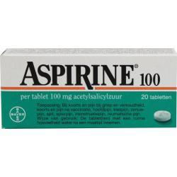 Aspirine 100mg