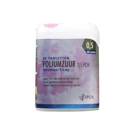 Pharmachemie Foliumzuur 05 Mg Click