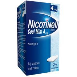 Kauwgom cool mint 4mg