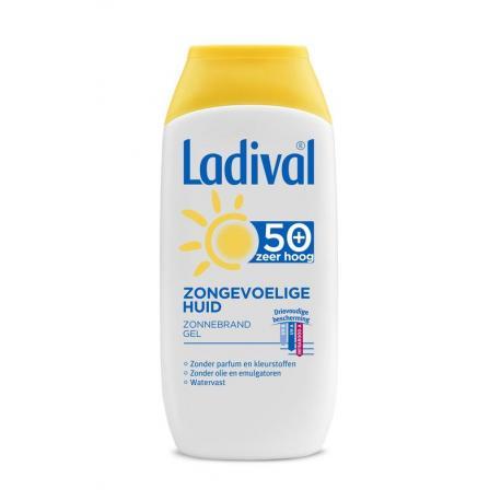 Zongevoelige huid SPF50+