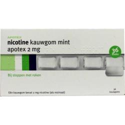 Nicotine 2 mg gum