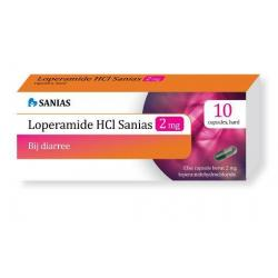 Loperamide 2 mg HCL