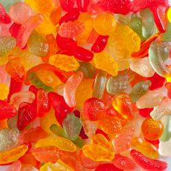 Fruitgums zonder suiker
