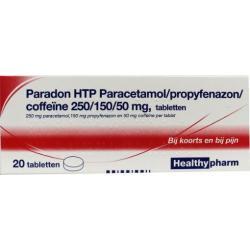 Paradon blister 2 x 10
