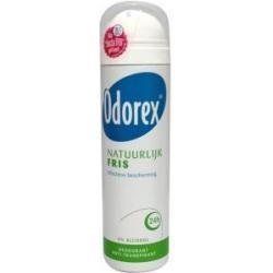 Body heat responsive spray natural fresh