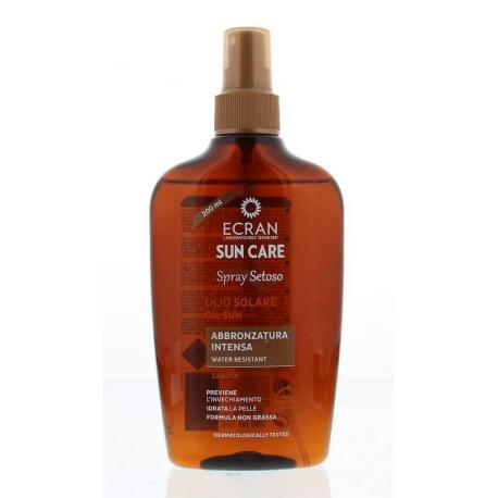 Sun oil carrot intense spray