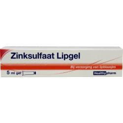 Zinksulfaatgel lipgel 1 mg