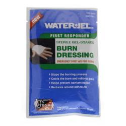 Waterjel 10X10 kompres steriel gel gedrenkt