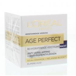 Age perfect nachtcreme