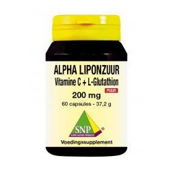 Alpha liponzuur 200 mg puur