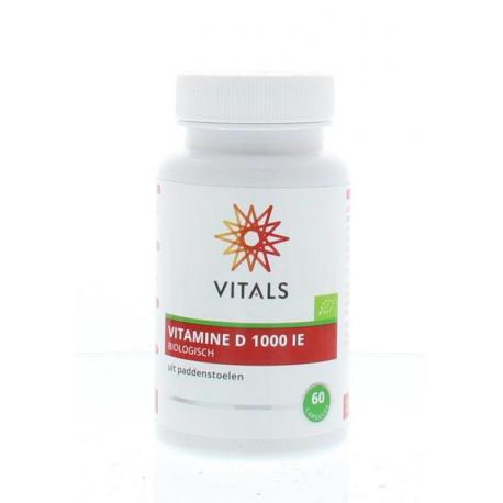 Vitamine D 1000IE biologisch