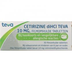 Cetirizine DI HCI 10 mg