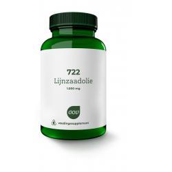 722 Lijnzaadolie 1000 mg