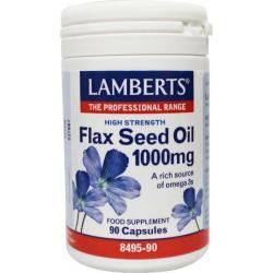 Lijnzaad (flax seed) 1000 mg