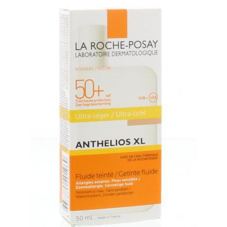 Anthelios getinte fluid SPF50+